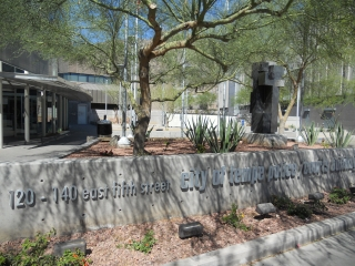 Front of Tempe Police Department