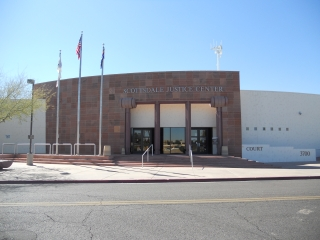 Front of Scottsdale Justice Center