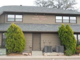 Front of Gila County Payson Courts 714
