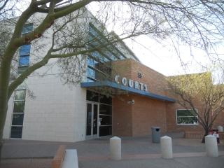 Front of Gilbert Municipal Court